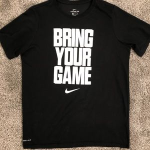 Nike Shirts & Tops - Nike Dri Fit Boys Tee - Size XL
